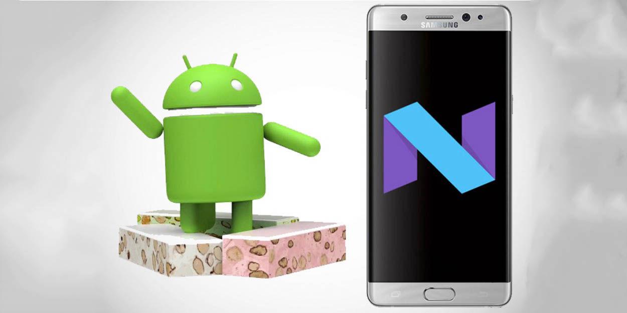 Galaxy Note 7 Nougat