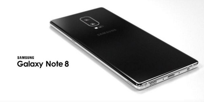 Galaxy Note 8 escaner de huellas