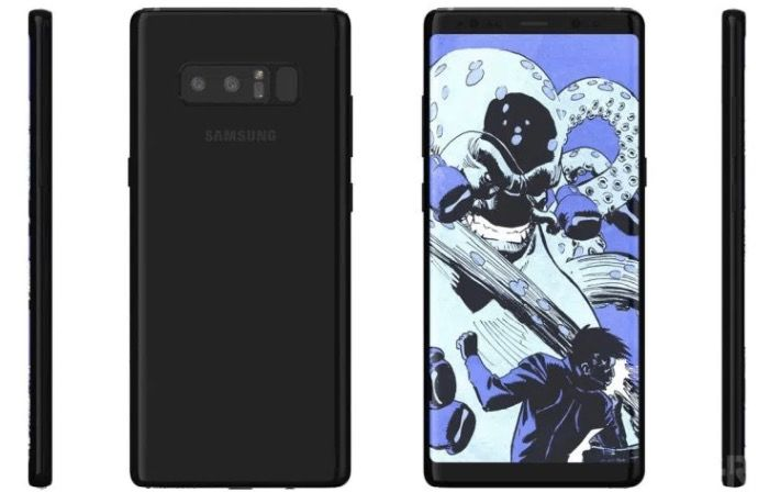 Galaxy Note 8 fotos