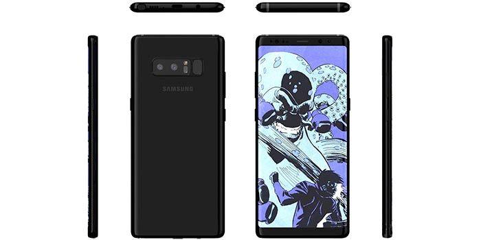Galaxy Note 8 oficial