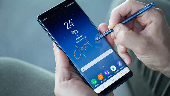 Galaxy Note 8 pantalla