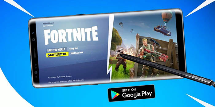 Galaxy Note 9 exclusivo con Fortnite