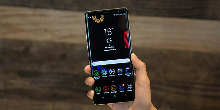 Galaxy Note 9 pantalla