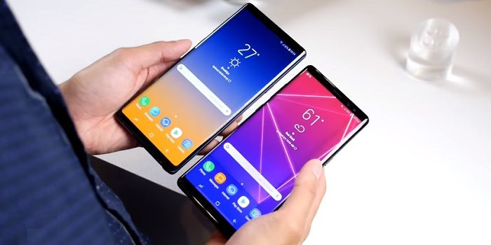 Galaxy Note 8 vs Note 9 diferencias