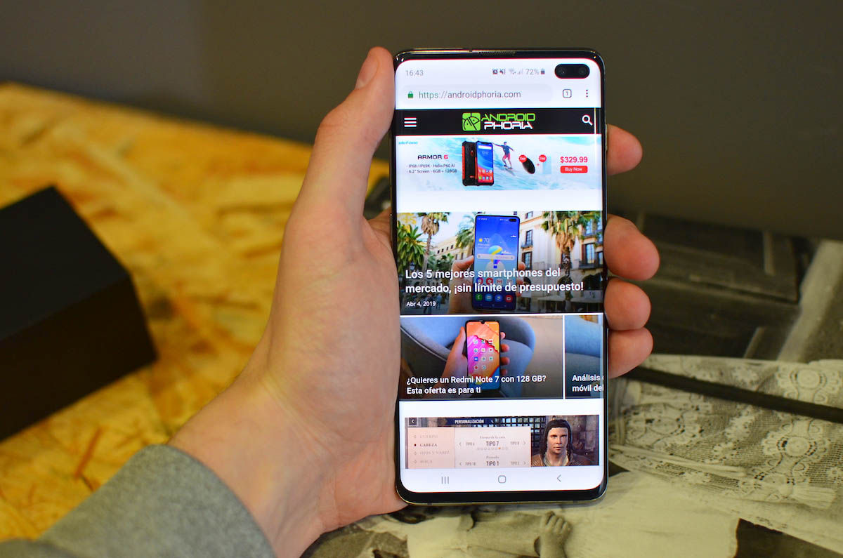 Galaxy S10 Plus Androidphoria