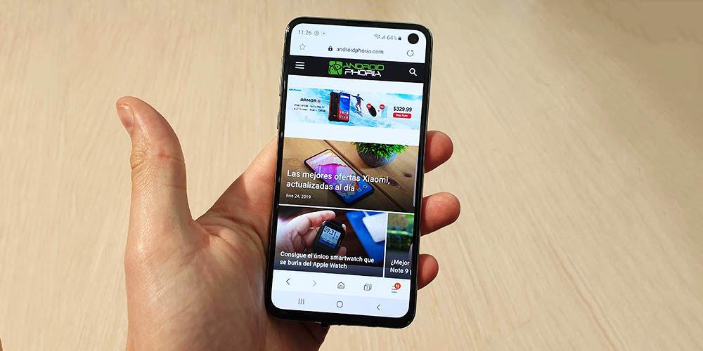 Galaxy S10e Androidphoria
