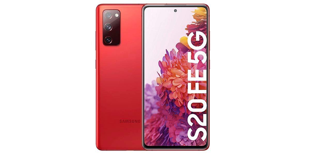 Galaxy S20 FE rojo