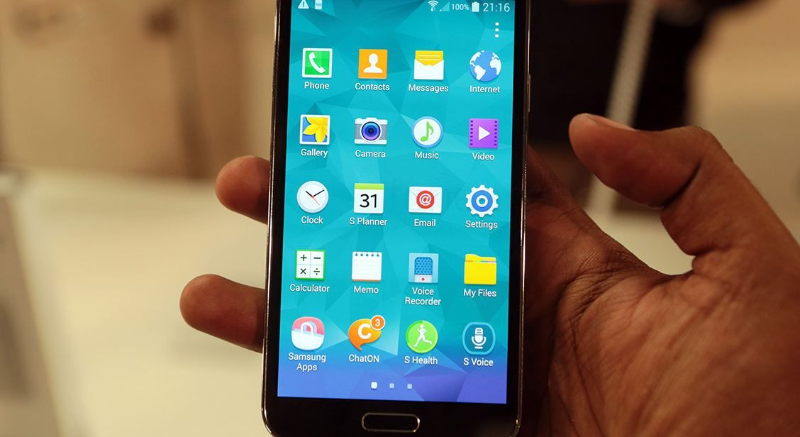 Galaxy S5 Mini con Lollipop