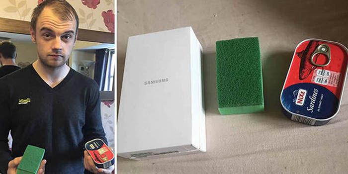 Galaxy S6 lata de sardinas