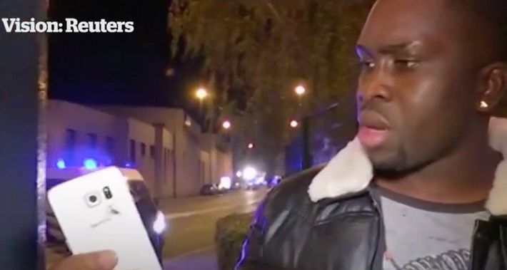 Galaxy S6 salva la vida de un hombre en el atentado en París francia