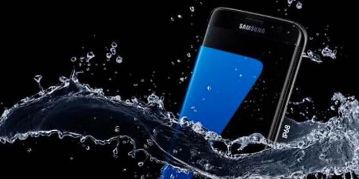 Galaxy S7 agua garantia