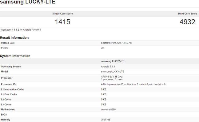 Galaxy S7 con Exynos 8890 tendrá 3 y 4 GB de RAM rendimiento