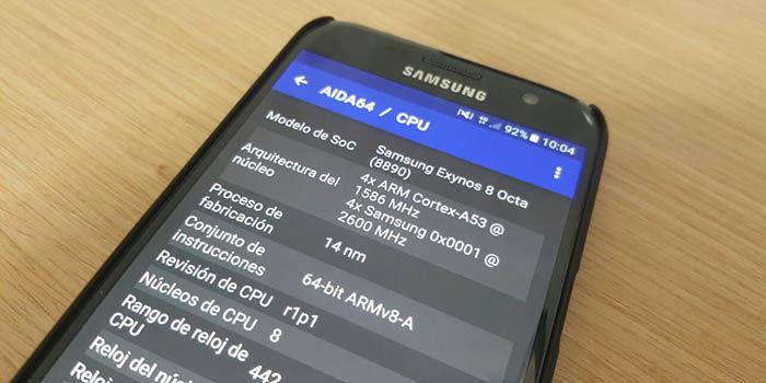 Galaxy S7 con Exynos 8890