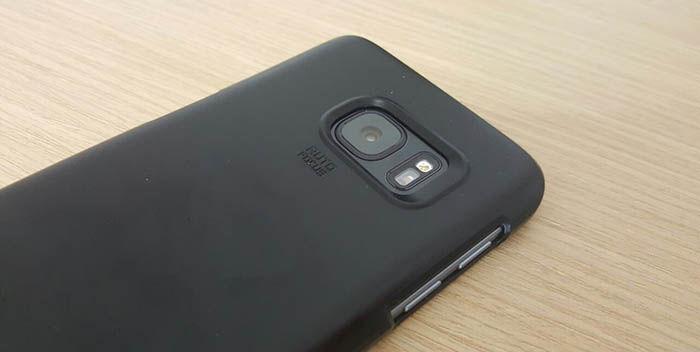 Galaxy S7 con funda