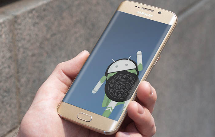 Galaxy S7 edge se actualiza a Oreo