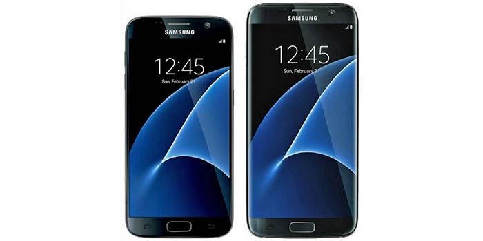 Galaxy S7 foto real delantera