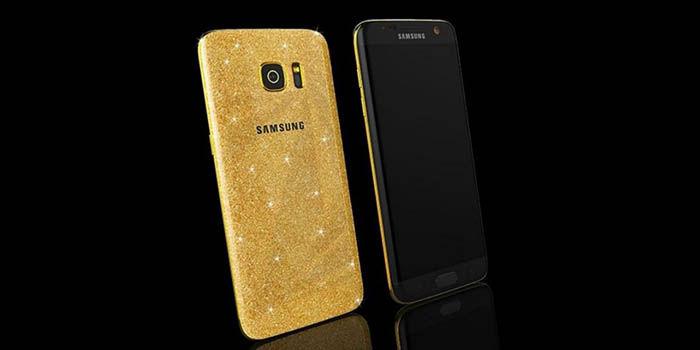 Galaxy S7 oro 24k