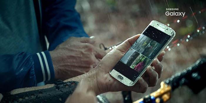 Galaxy S7 resistente al agua