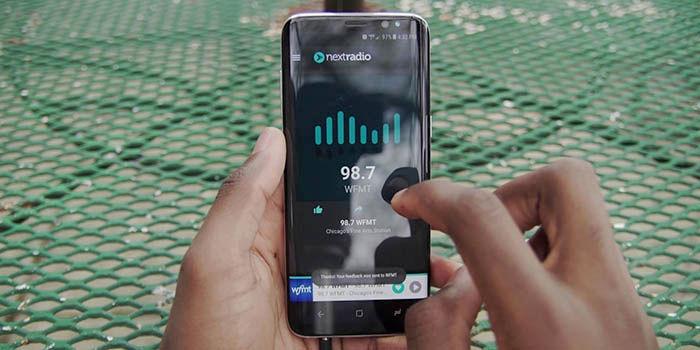 Galaxy S8 con radio FM