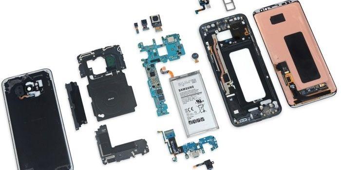 Galaxy S8 desmontado