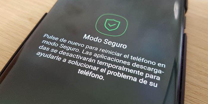 Galaxy S8 modo seguro