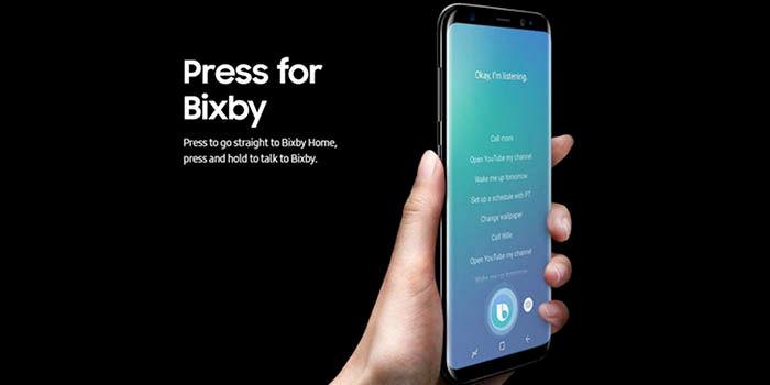 Galaxy S8 no tiene Bixby