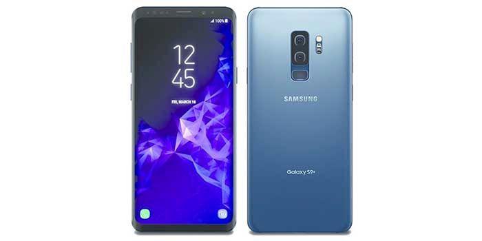 Galaxy S9 Plus azul coral
