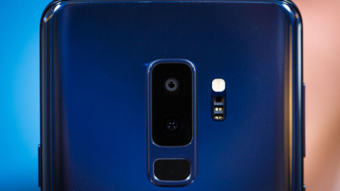 Galaxy S9 Plus camara