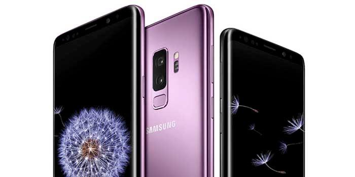 Galaxy S9 Plus trasera
