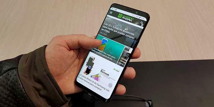 Galaxy S9 bloqueado