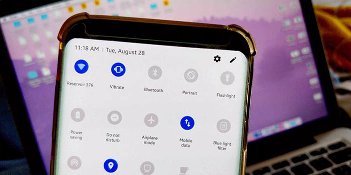 Galaxy S9 con SE 10 y Android 9 Pie