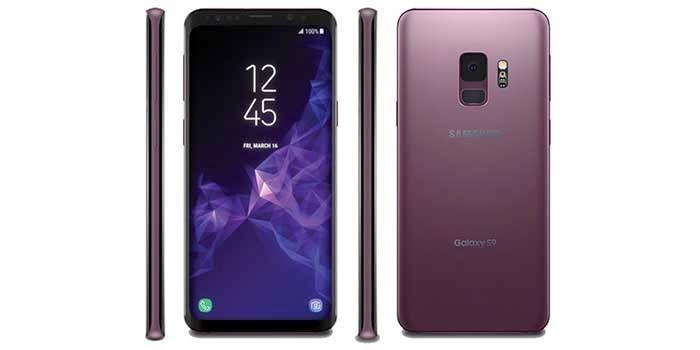 Galaxy S9 purpura