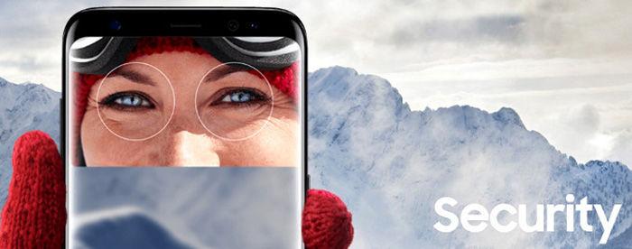 Galaxy S9 seguridad reconocimiento facial