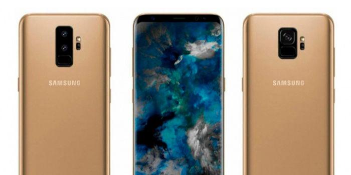 Galaxy S9 y S9 Plus dorado