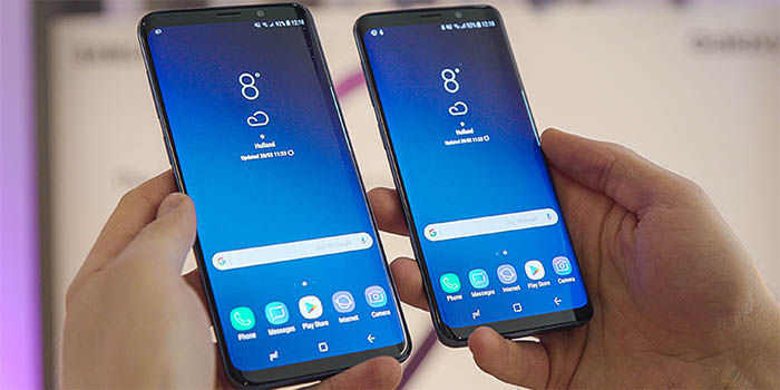 Galaxy S9 y S9 Plus negros
