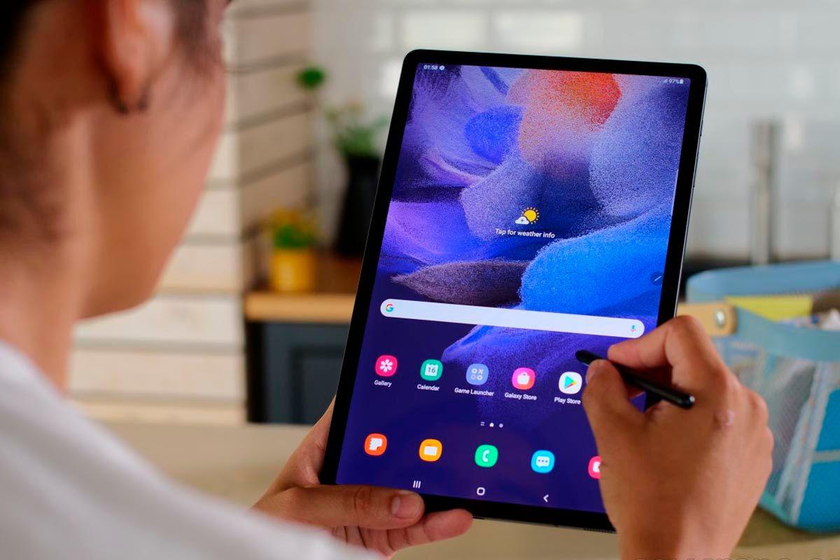 Galaxy Tab S7 FE bateria