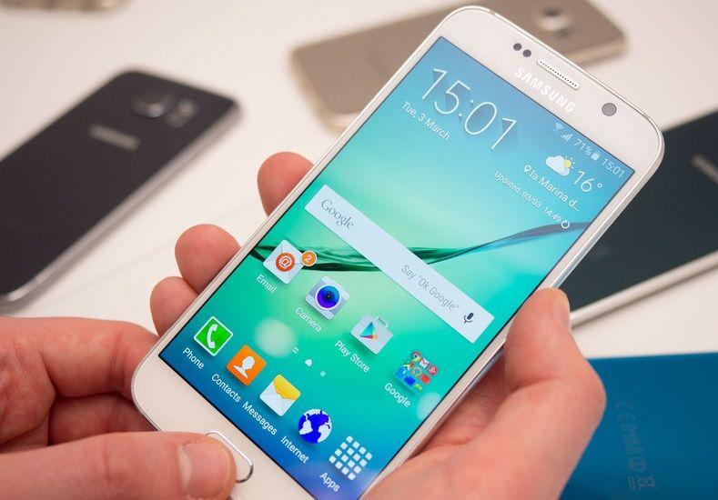 Apagar Galaxy S6 bloqueado
