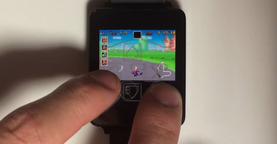 Game Boy en Android Wear