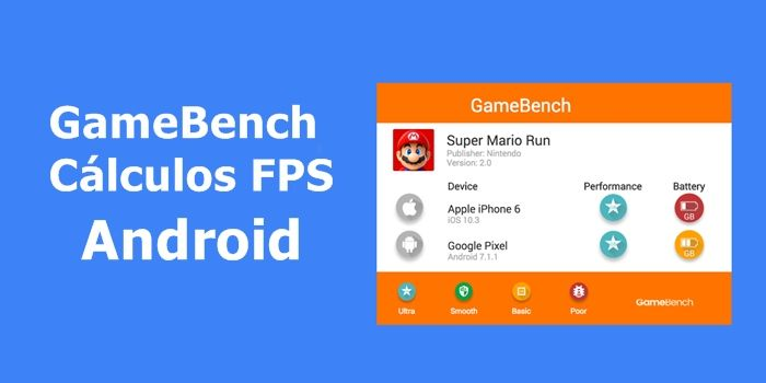 GameBench calculos fps