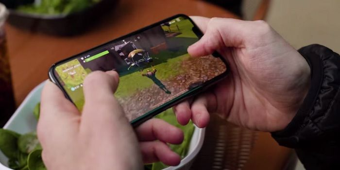 Gameplay Fortnite para Android