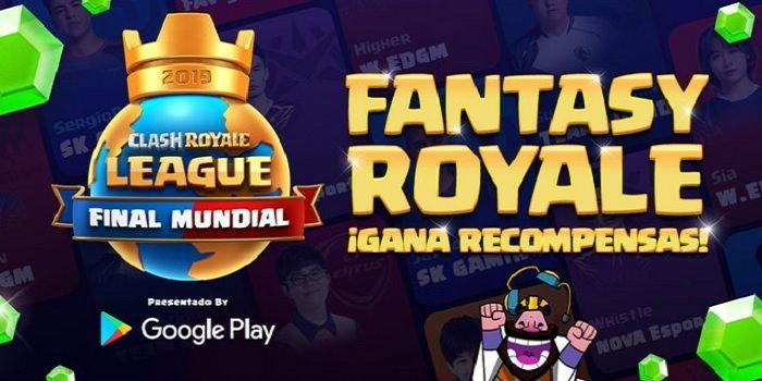 Gana premios con el Fantasy Royale de Clash Royale