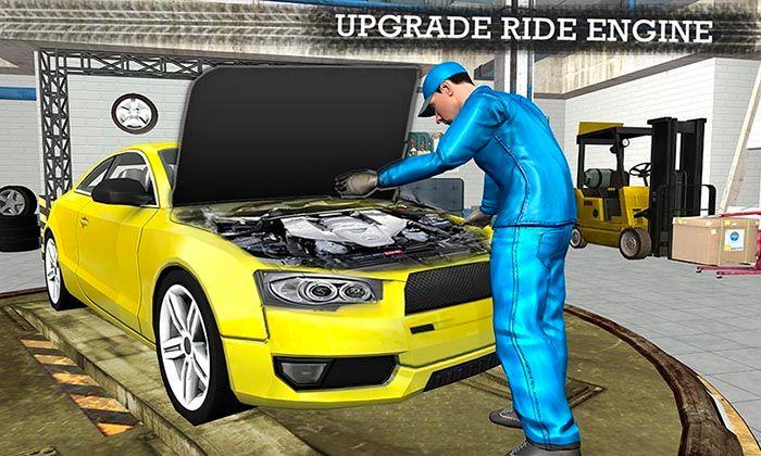 Gas Station Car Mechanic Sim