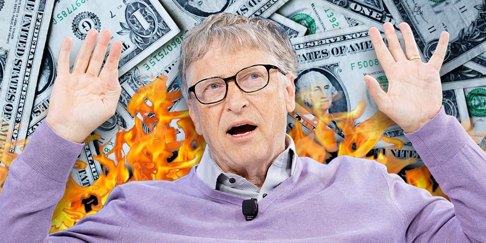 Gastar todo el dinero de Bill Gates juego para Android