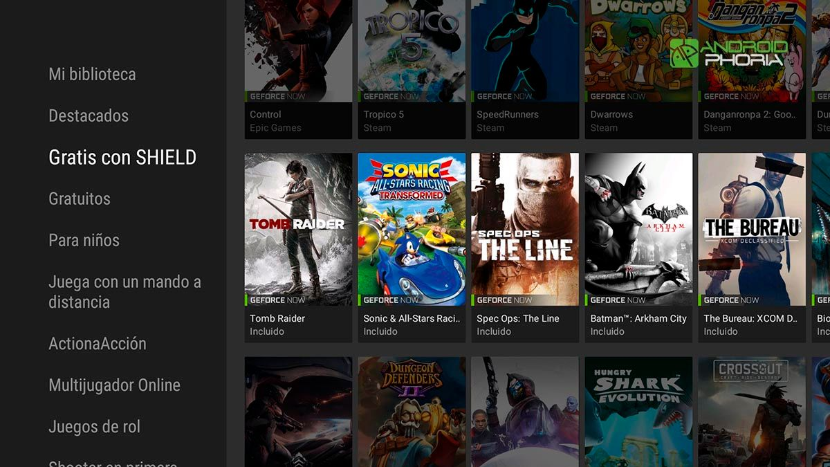 GeForce Now Nvidia Shield TV