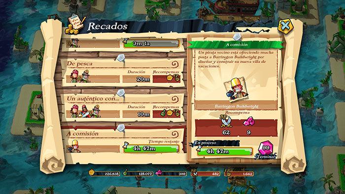 Gemas gratis en Plunder Pirates