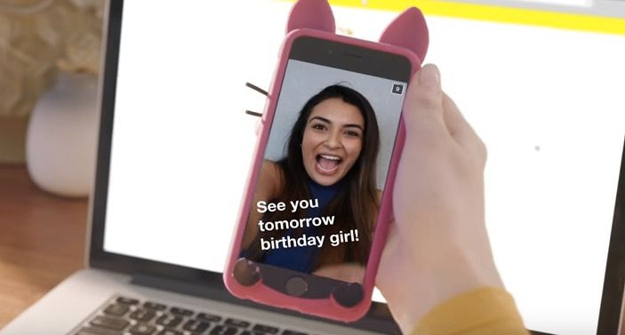 Geofiltros llegan a Snapchat