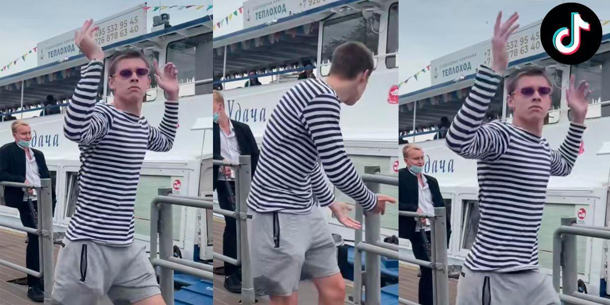 Glebasee ruso bailando TikTok