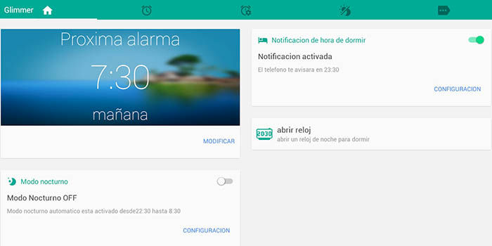 Glimmer para Android