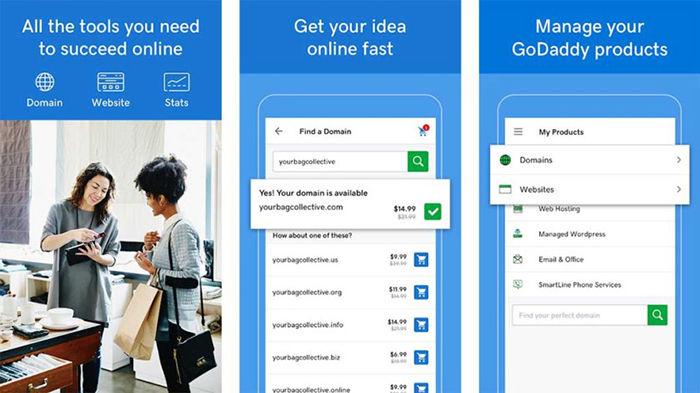GoDaddy para Android