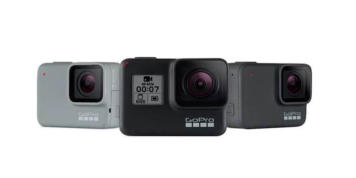GoPro Hero 7 modelos